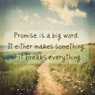 promise is a big word >> STARTS WITH CUPCAKES