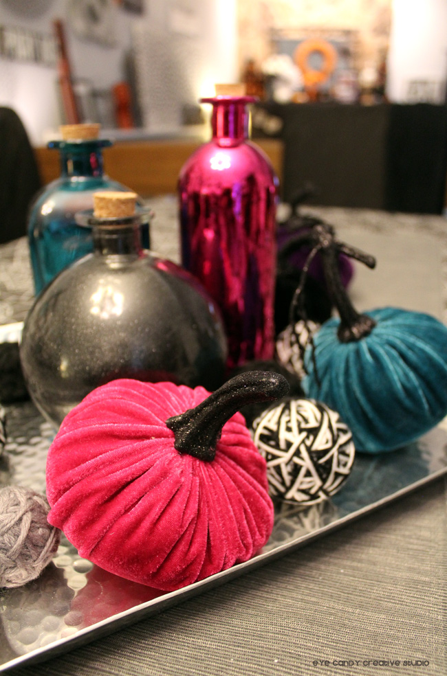 bright colored halloween, pink halloween, potion bottles, target finds