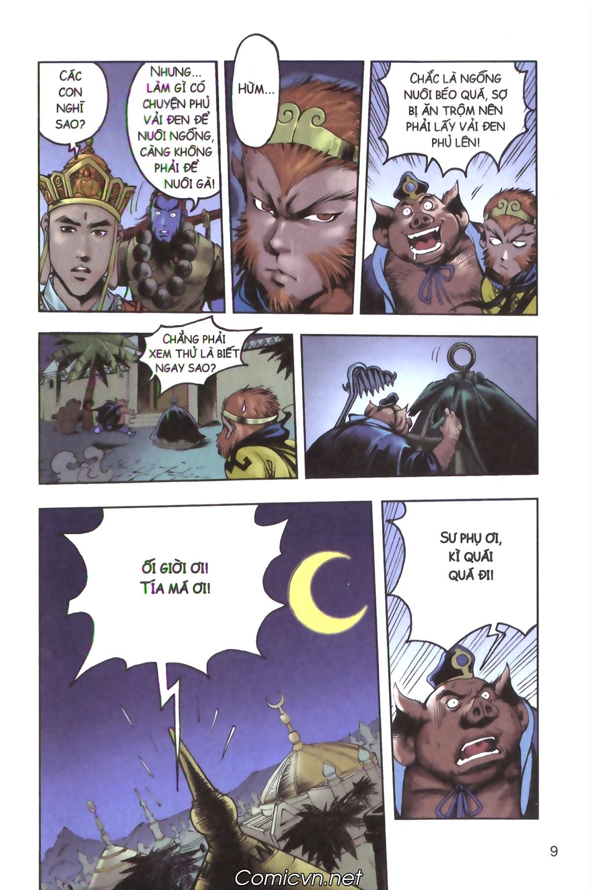 Tây Du Ký màu - Chapter 129 - Pic 7