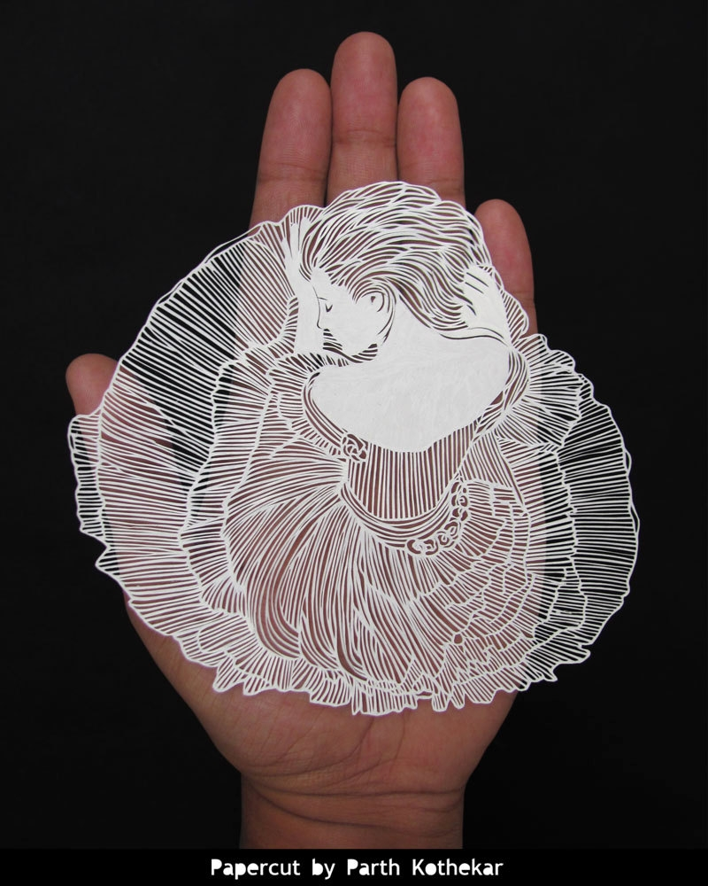 06-Pensive-Parth-Kothekar-Beauty-and-Precision-in-Paper-Cut-Silhouettes-www-designstack-co