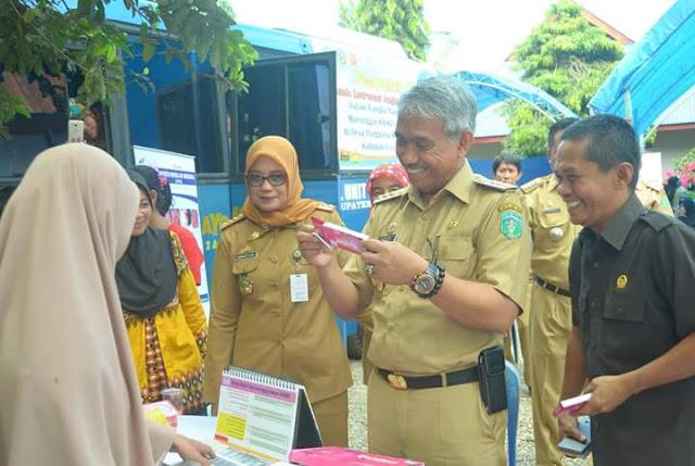 Baksos di Kampung KB, Badan KBPP Gandeng TNI