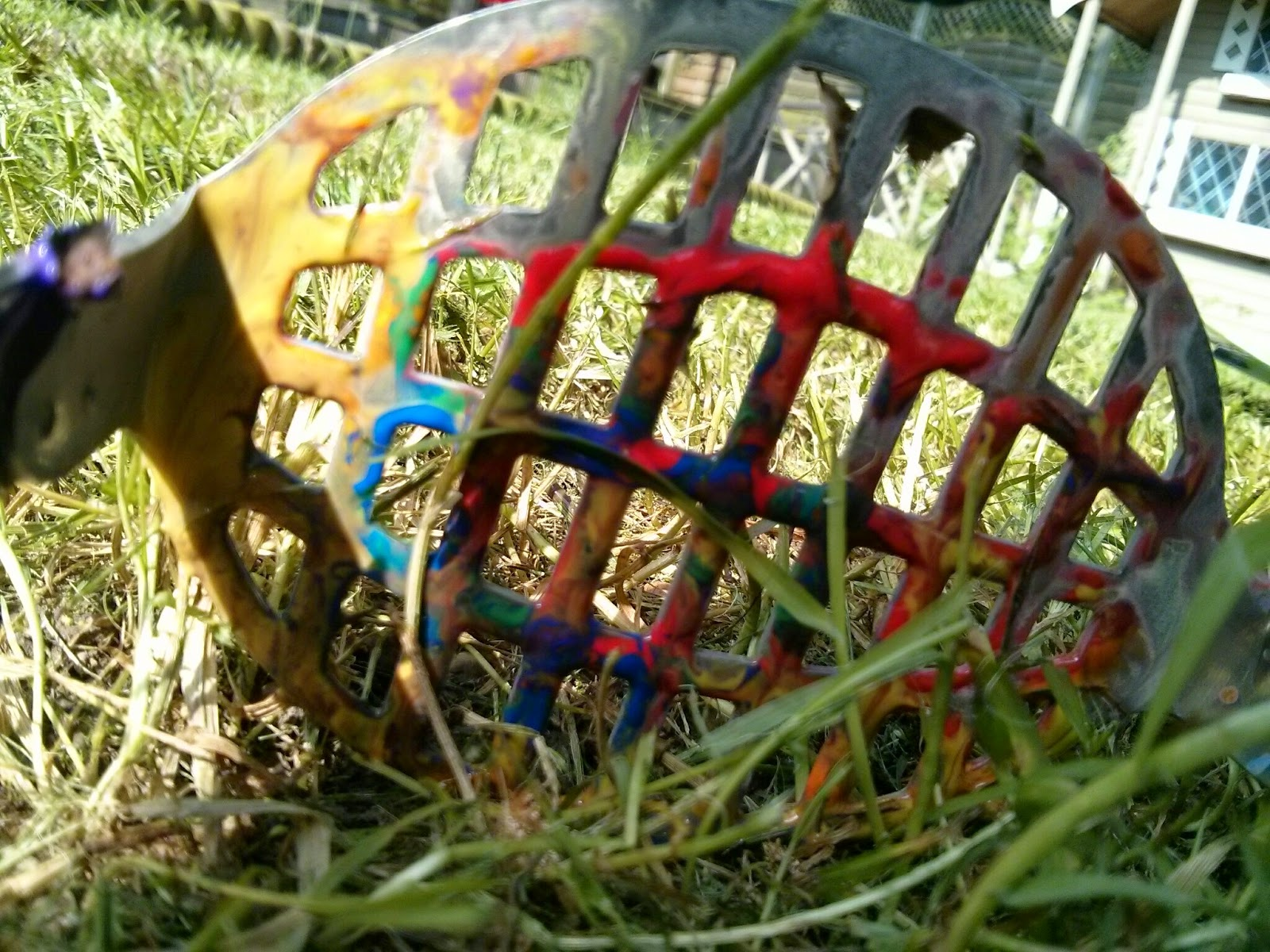 colourful potato masher