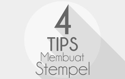 Tips Membuat Stempel yang Unik dan Professional