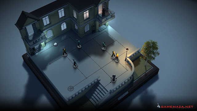 Hitman Go Gameplay Screenshot 1
