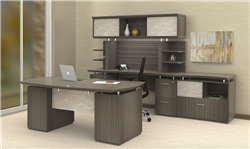 Fashionable Gray Office Furniture
