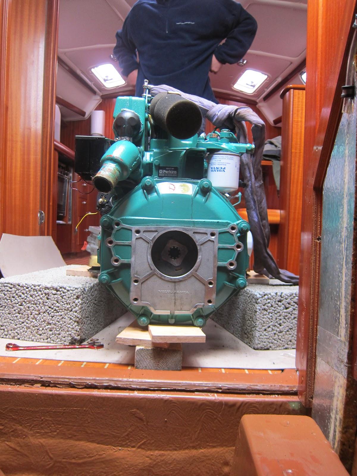 Motor sett fra baksiden