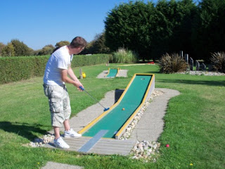 Crazy Golf at Chichester Golf Centre, Hunston