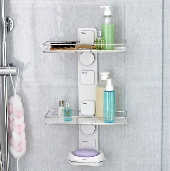 Tempat sabun dan sampo di kamar mandi - Model Tempat Sabun Minimalis
