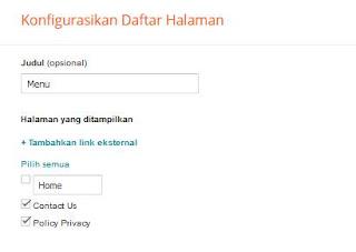 Cara Membuat Privacy Policy Blogspot
