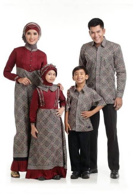 10 Model Baju Batik Muslim Anak Kreasi Terbaik 2017