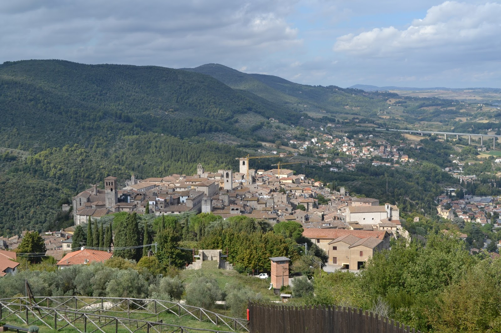 Umbria italy 39 s green heart day 3 for Green italy