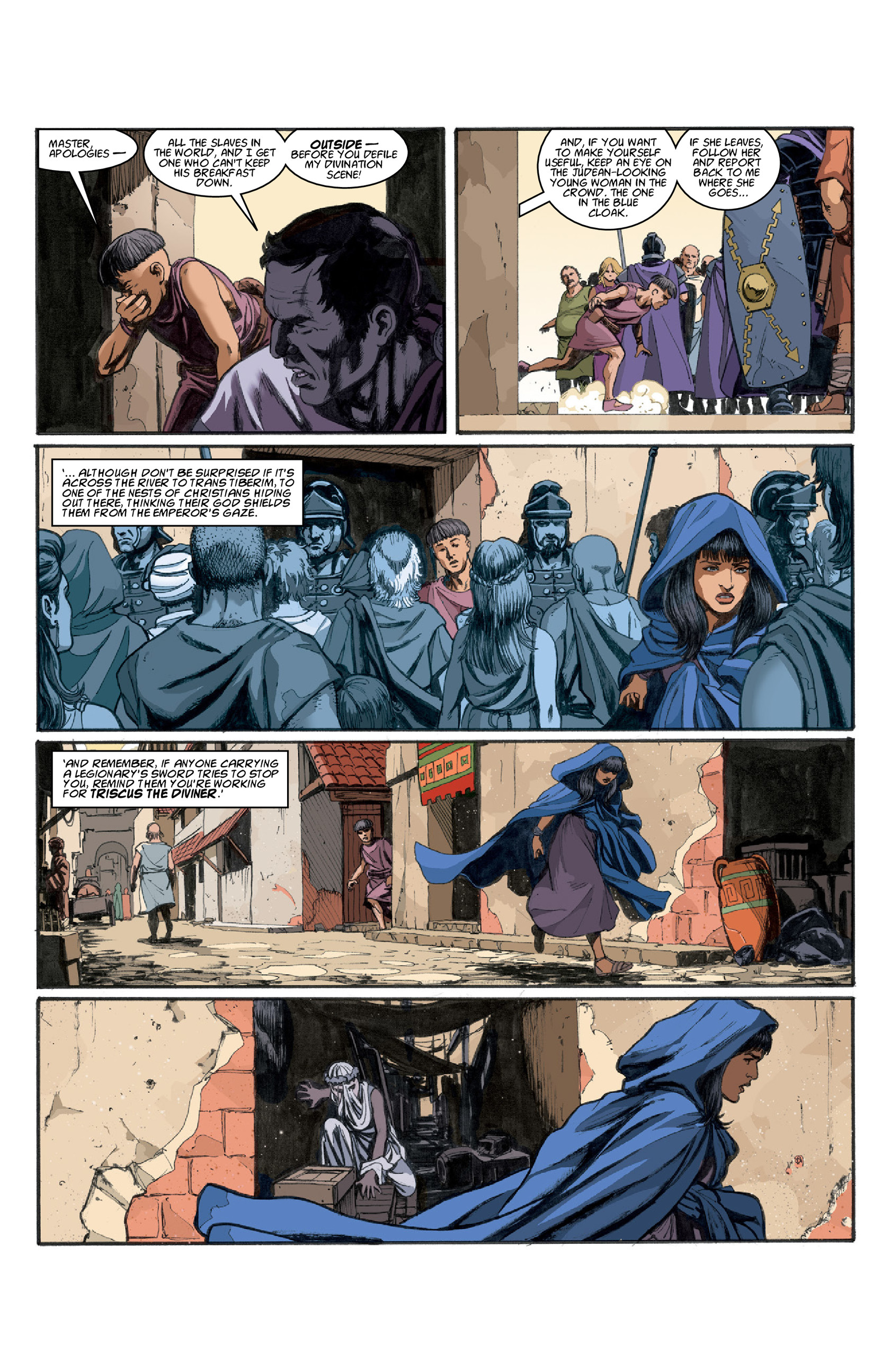 Read online Aquila comic -  Issue #3 - 14