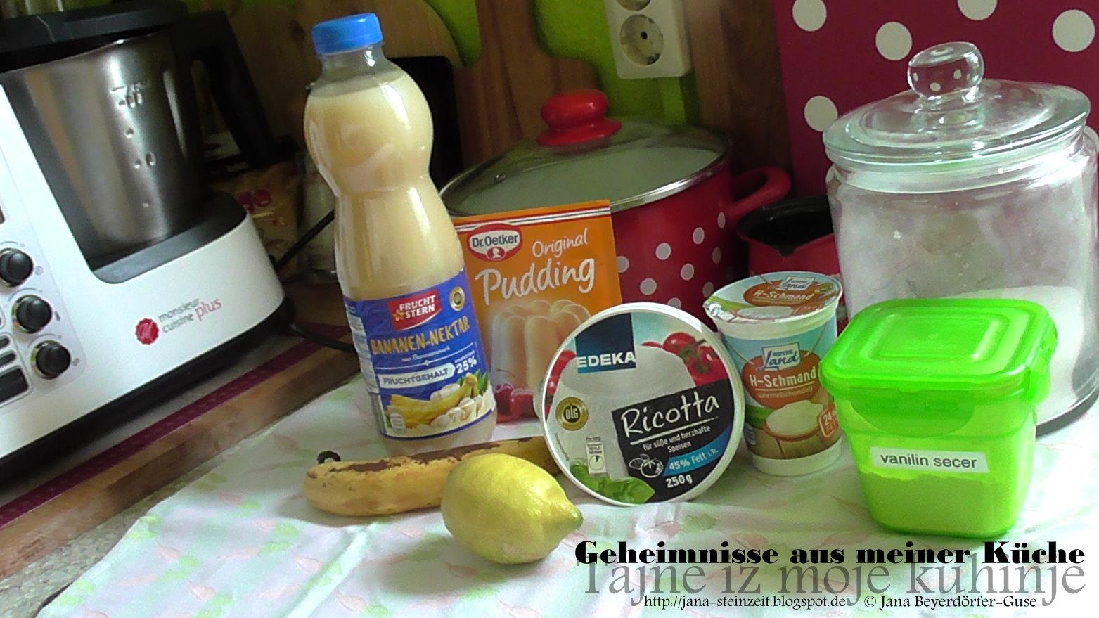 Janas Steinzeit Video Schnelles Bosnisches Dessert Bananen