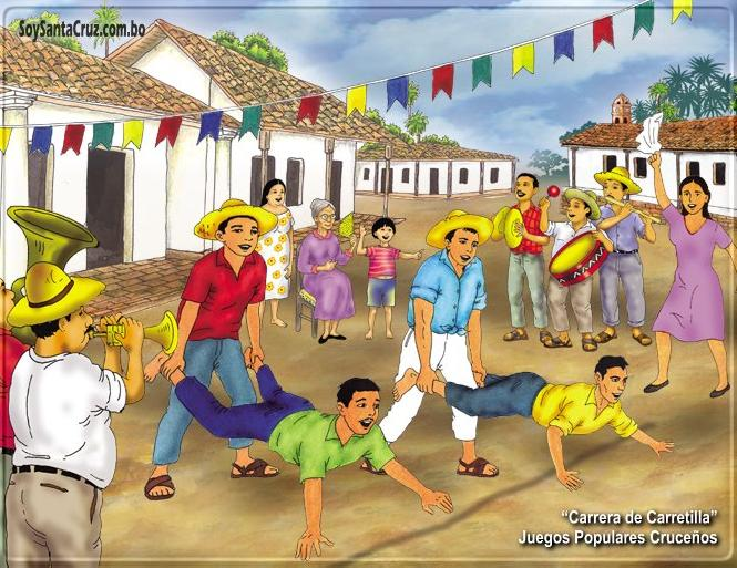 La Pagina De Denisse Juegos Populares De Santa Cruz
