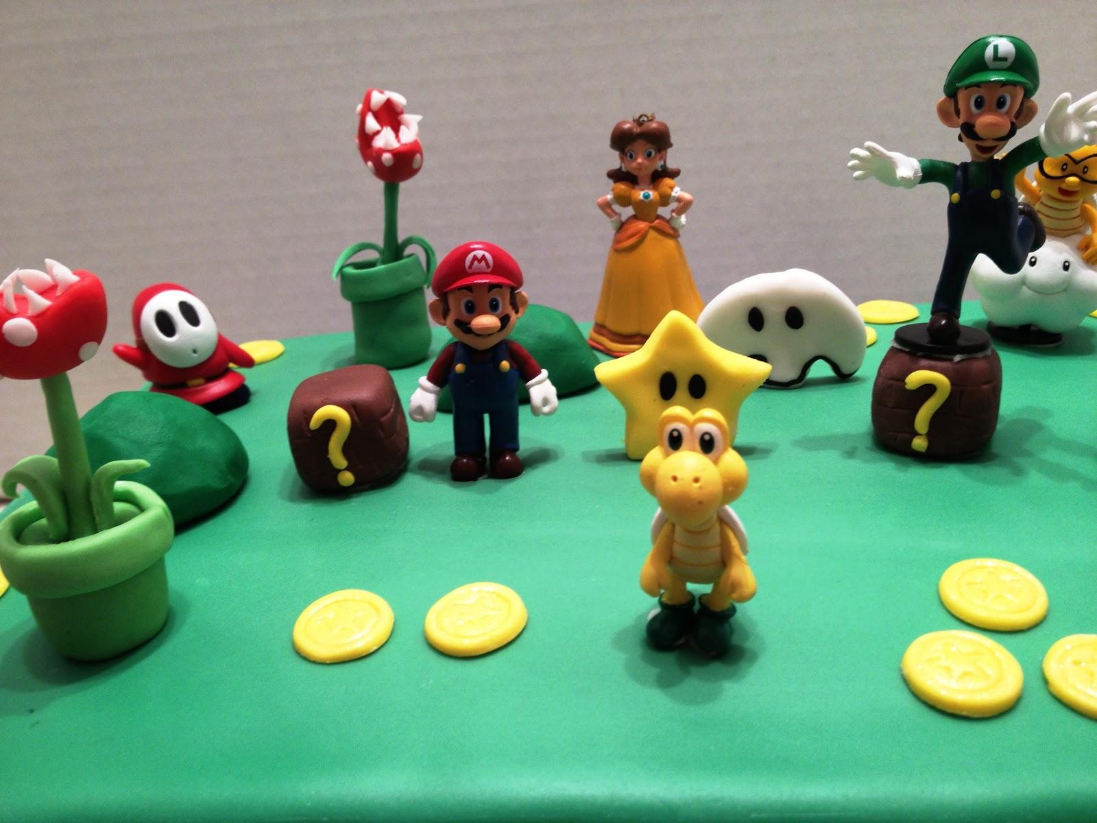 Marymel Cakes Super Mario Bros