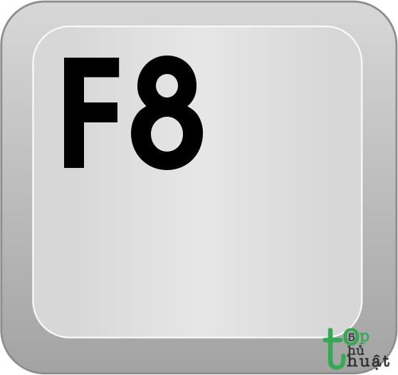 Nhấn F8