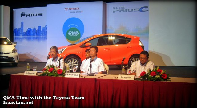 Toyota Prius C Media Launch Questions