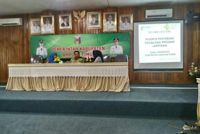 Dinas Kesehatan Lampung Timur Ajak Sosialisasikan Jampersal (Jaminan Persalinan) ke Masyarakat