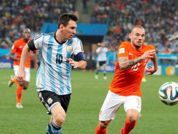 2014FIFAワールドカップ オランダ対アルゼンチン