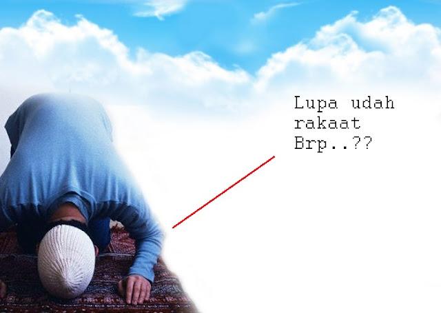 Ketika Ragu Dalam Solat Sudah Rakaat Berapa, Inilah Yang Harus dilakukan.. Bagikan ya..