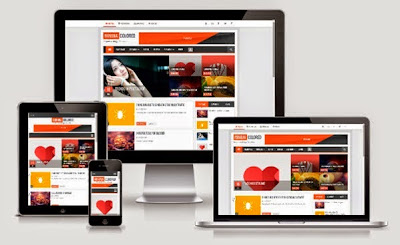 Minima Colored 2.1 Responsive Blogger Template : Premium Responsive Templates
