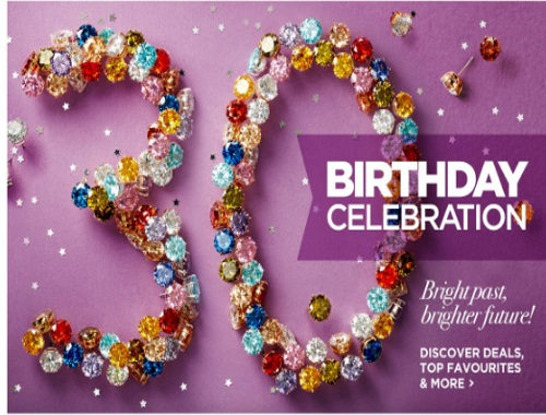 The Shopping Channel 30th Birthday Celebration Contest + Birthday Special Savings