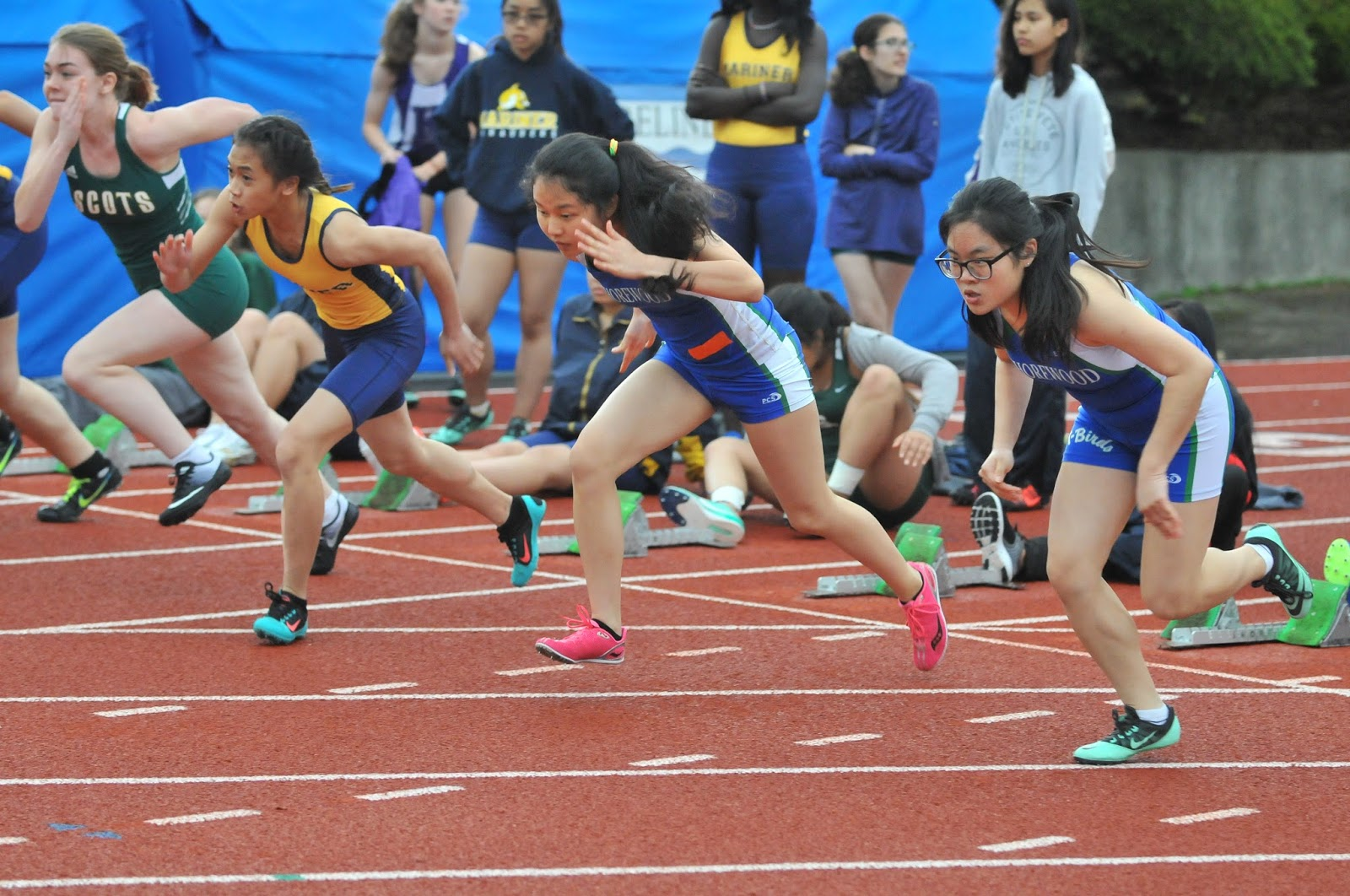 kings academy track meet