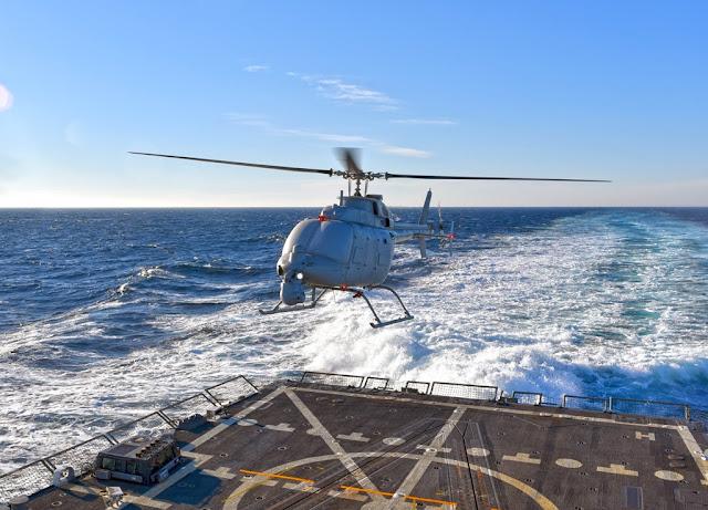 U.S. NAVY SELECTS LEONARDO'S OSPREY ELECTRONICALLY SCANNED RADAR FOR MQ-8C FIRE SCOUT