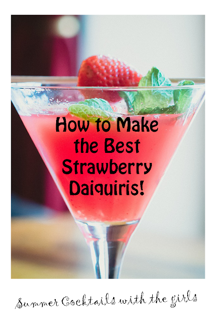 The best Strawberry Daiquiri recipes for your summer time parties.
