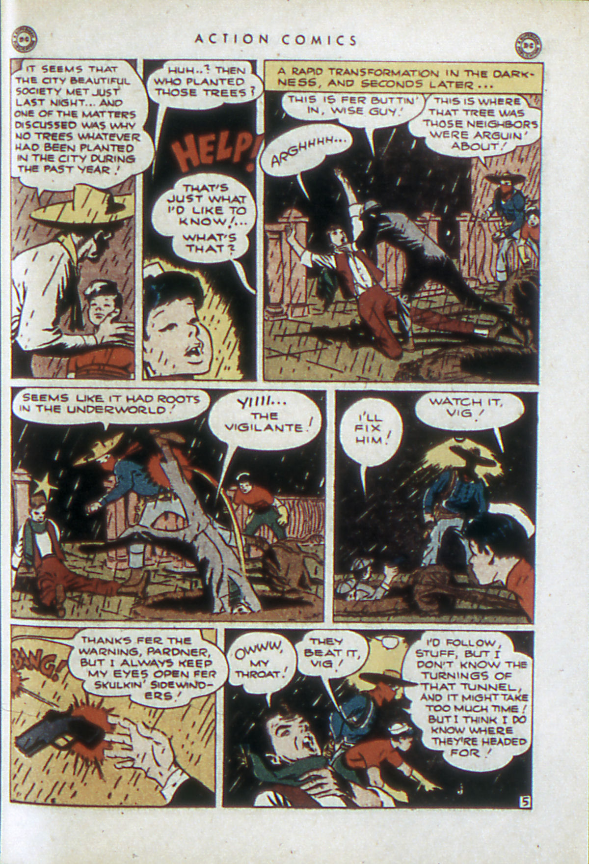 Read online Action Comics (1938) comic -  Issue #84 - 36