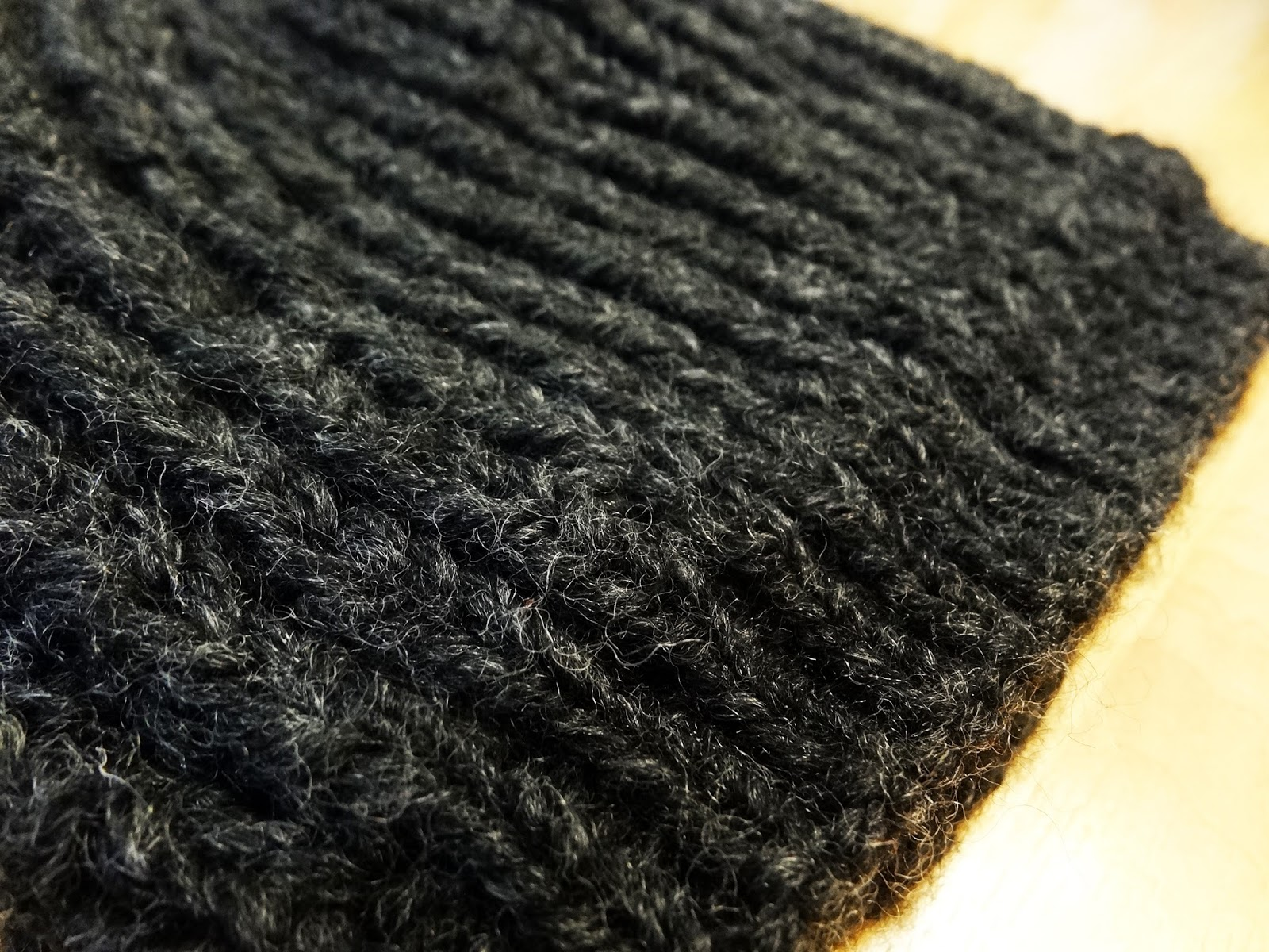 Knitting Up A Storm: Fo: Fisherman\'s Rib Hat