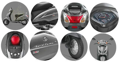 Honda Activa 3G scooter all specs image HD