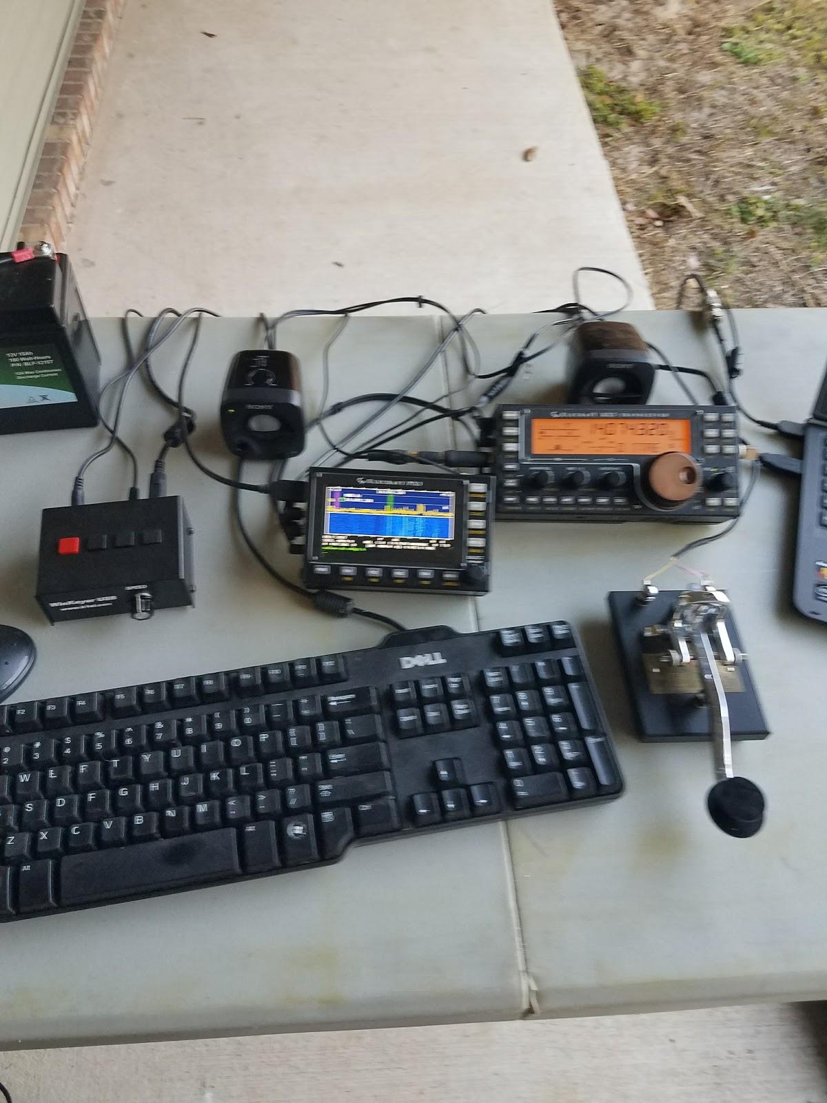 N4KGL - RaDAR: Building a QRP Field Day Station