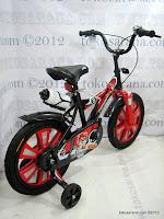 3 Sepeda Anak Pliko 16BEX Cricket Go Glow 16 Inci