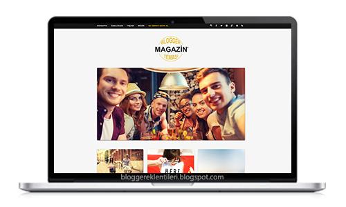 Blogger Magazin Teması 2