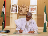 PRESIDENT MUHAMMADU BUHARI APPROVES SACK, RETIREMENT OF JUSTICES TOKODE, ADEMOLA