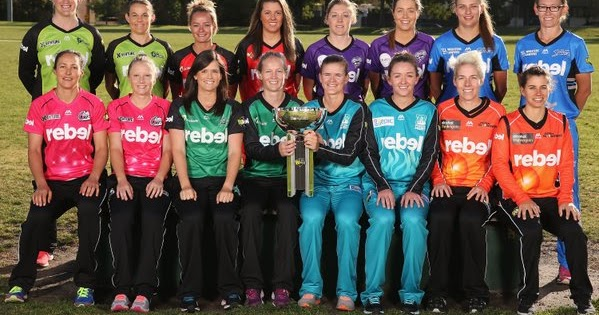 Women's Big Bash League 2018-19 Schedule - Fixtures