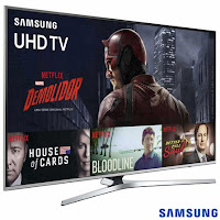Smart TV 4K Samsung LED 49 com Processador Quad Core