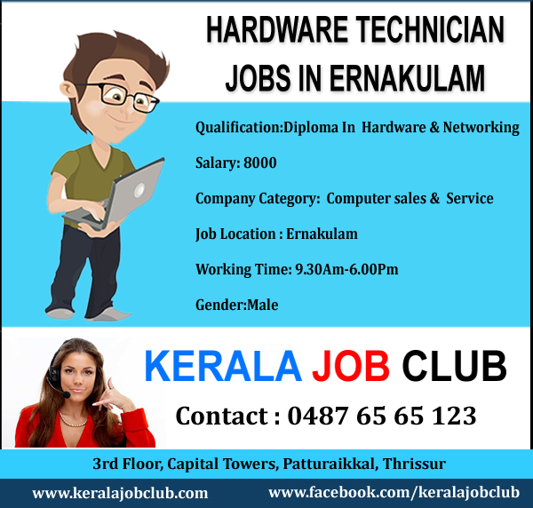 Job Vacancies In: Computer Hardware Networking Jobs In Ernakulam