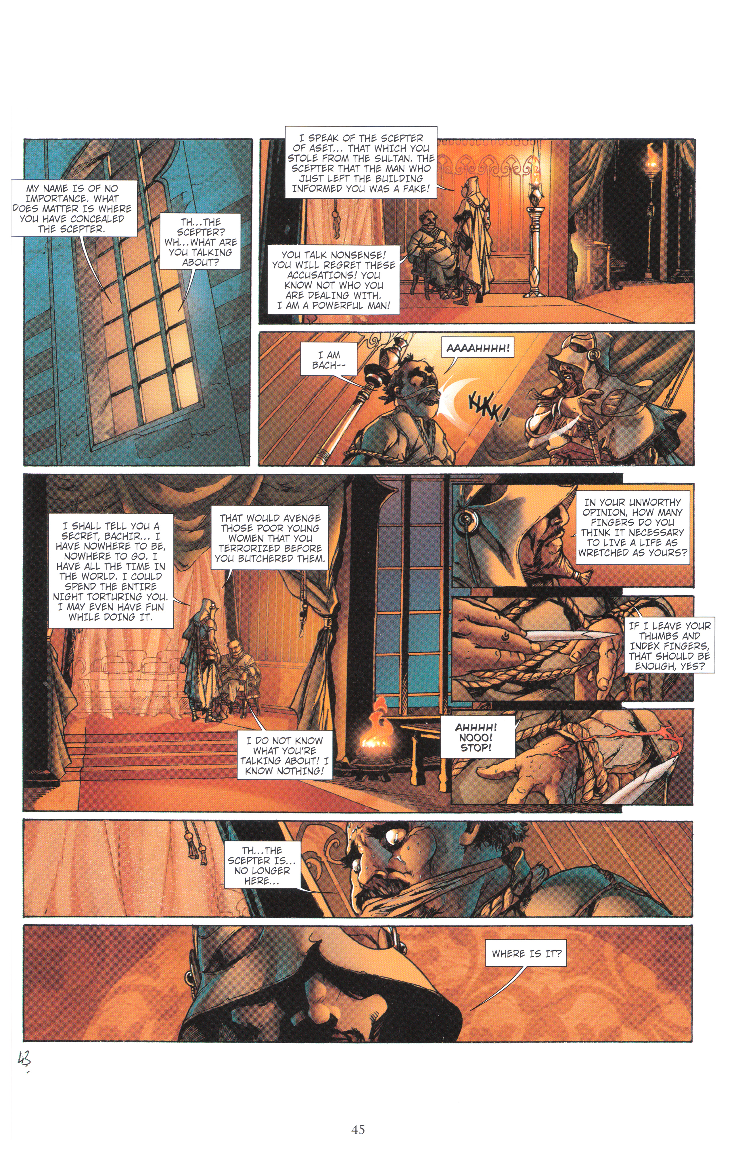 Read online Assassin's Creed (2012) comic -  Issue #4 - 45