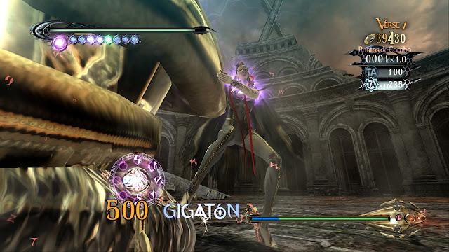 Bayonetta - Xbox360 - Captura 4