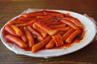 tteok-bokki (Stir-fried Rice Cake)