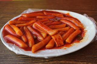 tteok-bokki (Stir-fried Rice Cake)