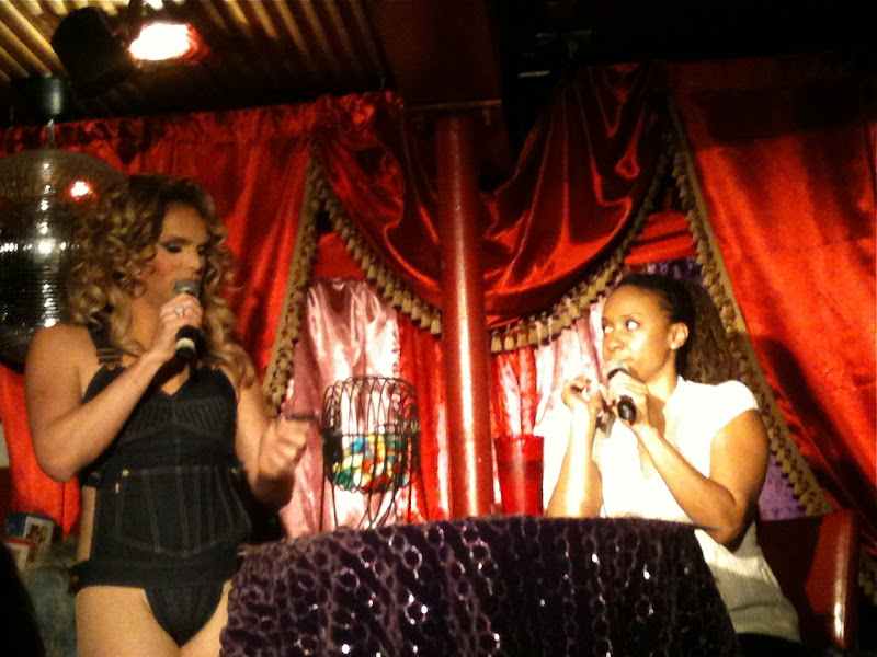 Drag Queen bingo with Tracie Thoms
