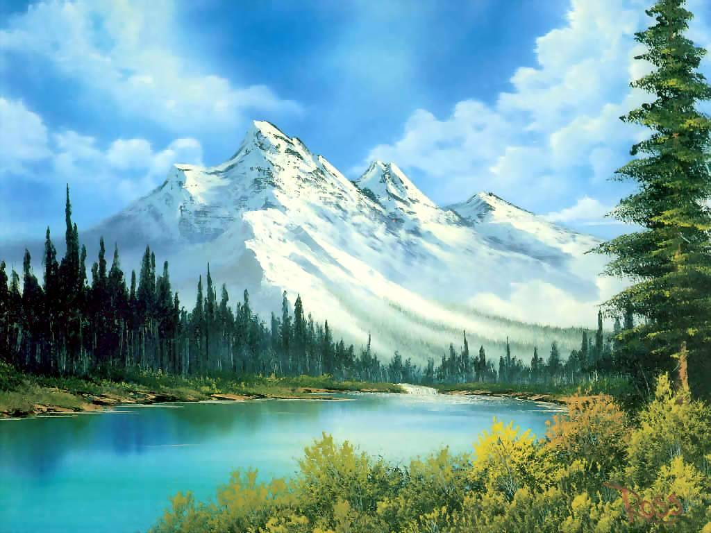 Free Download Landscape Painting
