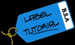 Cara Membuat label di Artikel Blogger