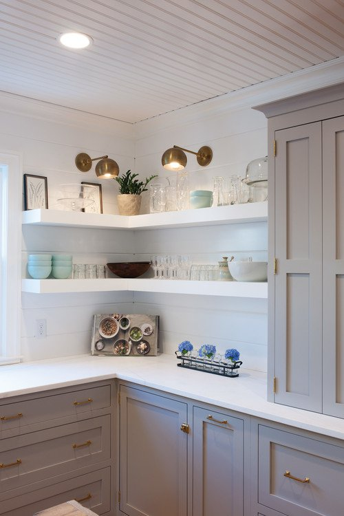 Amazing corner shelves to use the empty corner s space for Kitchen ideas w2 5sh
