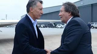 El cónsul argentino en Houston, Gabriel Volpi, recibió a Mauricio Macri