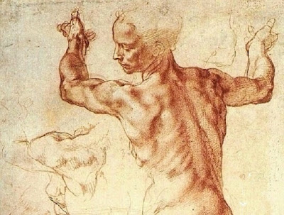 Michelangelo Buonarotti Studies & Drawings