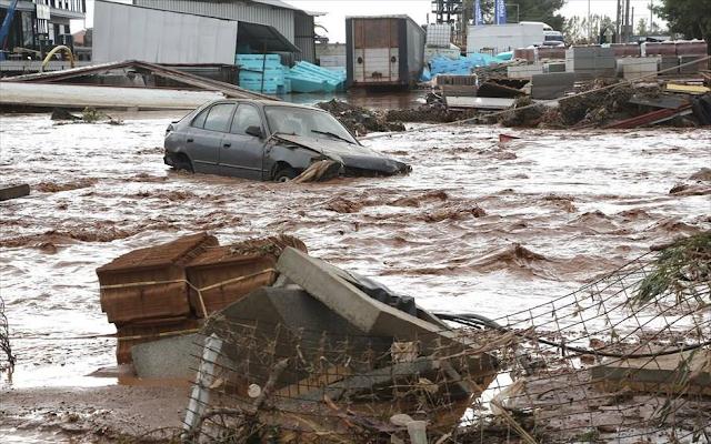 Στους 19 οι νεκροί από τις πλημμύρες στη Δυτική Αττική